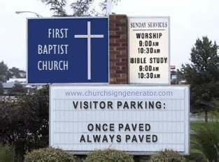Visitor Parking: Once Paved, Always Paved