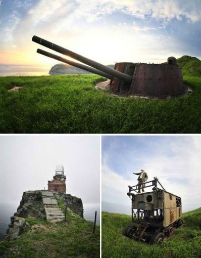 Abandoned-Military-Soviet-Base-Japan